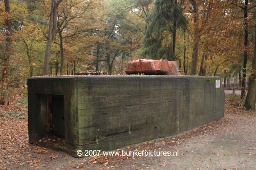 © bunkerpictures - Type Dutch tank casemate Cold War